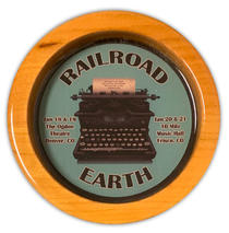 Railroad Earth - Colorado Event Wood Coaster