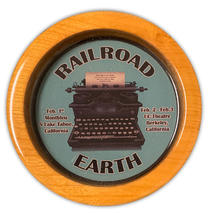 Railroad Earth - California Event Wood Coaster
