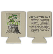 Railroad Earth - Stump Koozie w/ Spring 2019 Tour Dates