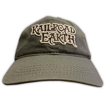 Railroad Earth - Grey Embroidered Logo Hat