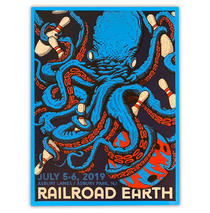 Railroad Earth - 2019 June Asbury Park Poster