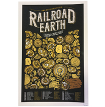Railroad Earth - Winter Tour 2017 Poster