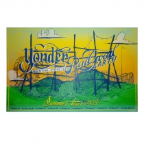 Railroad Earth - 2014 Yonder Railroad Earth Tour Poster