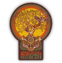 Railroad Earth - Owl Tree Decal