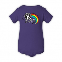 Railroad Earth - Hot Air Balloon Purple Onesie