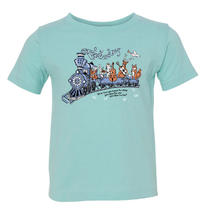 Railroad Earth - Toddler Chill Blue Train Tee