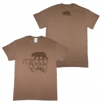 Railroad Earth - Men's Brown Bear Tee