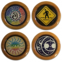 SCI - 4 Piece Coaster Set