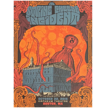 SCI - Orpheum Theatre Boston MA 2015 Poster
