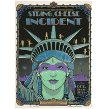 SCI - Madison Square Garden New York City NY 2015 Poster
