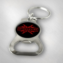 Spineshank - Logo Bottle Opener Keychain