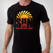 S.U.N. - Men's Album Cover Black Tee