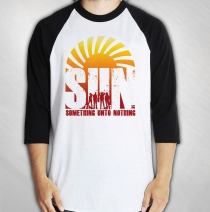 S.U.N. - Men's Album Cover 3/4 Sleeve Raglan