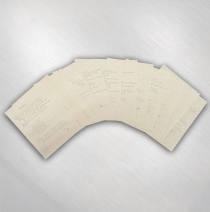 S.U.N. - Handwritten Lyric Set of 12