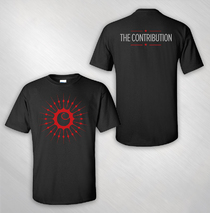 The Contribution - Men's Black Logo Tee