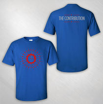 The Contribution - Men's Royal Logo Tee
