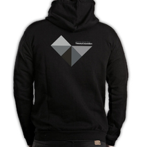 Thievery Corporation - Black Triangles Zip-Up Hoodie