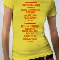 2010 Yellow Girls Event Tee