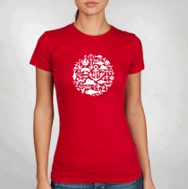 2012 Red Girlie Event Tee