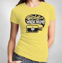 2013 Ladies Yellow Event Tee