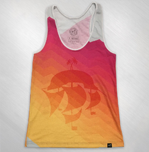2015 Girls Nuvango Ship Tank Top