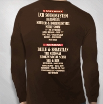 2010 Brown Longsleeve Event Tee