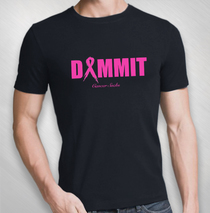 Todd Kerns - Men's Dammit Cancer Sucks Tee