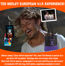 Ted Neeley - European Superstar VIP Experience 2016 / 2017