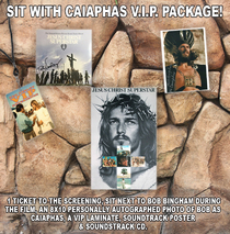 BOB BINGHAM - Sit with CAIAPHAS VIP Package