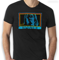 Ted Neeley - New Superstar 70's Groovy Vintage Black Tee