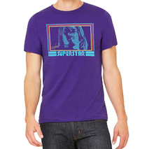 Ted Neeley - New Superstar 70's Groovy Purple Haze Tee