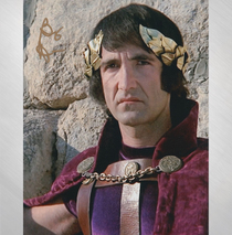 "Barry Dennen - ""Pilate"" in Gold Sharpie Signed 8x10"
