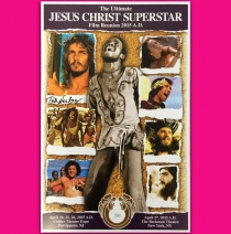The Ultimate J.C.S. Reunion 2015 Poster Signed by Ted Neeley