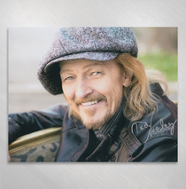 Ted Neeley - Italian Style 8x10 Signed