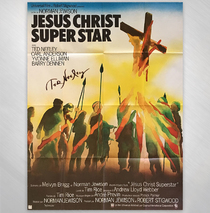 Ted Neeley - Paris France Movie Poster Reproduction Signed