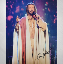 Ted Neeley -   Gethsemane Tonight Show 8x10 Signed
