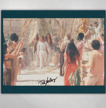 Ted Neeley - Hosanna 8x10 Signed