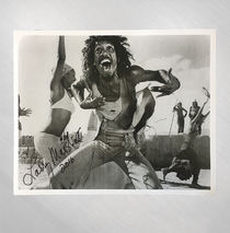 "Ted Neeley - ""Amen!!"" B&W Signed by Larry Marshall"