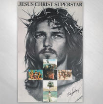 Ted Neeley - Superstar Record Store Poster Signed