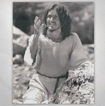 Ted Neeley - Black & White Inspired 8x10 Signed