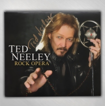 Ted Neeley - Ted only Signed Rock Opera CD