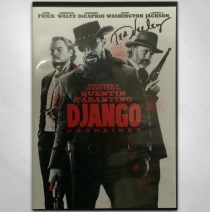 "Django Unchained DVD Signed by Ted ""The Tracker"" Neeley"