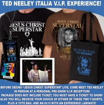 Ted Neeley - 2015/2016 ITALIA SUPERSTAR VIP EXPERIENCE