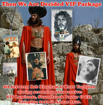 ".Ted Neeley - ""Then We Are Decided"" VIP Package"