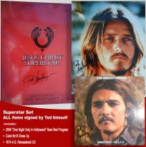 Ted Neeley - Autographed Superstar Set