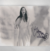 "Yvonne Elliman - ""Living to See You"" 8x10 Signed"