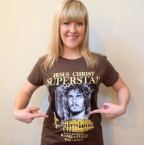 Ted Neeley - Women's 2014 Rome Italy Tour Tee