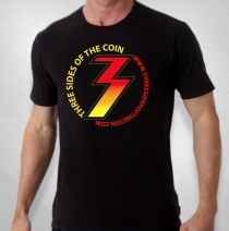 "Three Sides Of The Coin - ""3"" Tee"