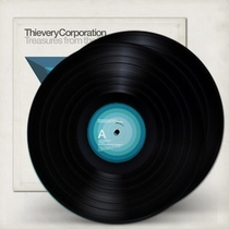 Thievery Corporation  - Treasures from the Temple LP