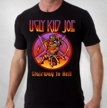 Ugly Kid Joe - Men's Stairway To Hell Tee